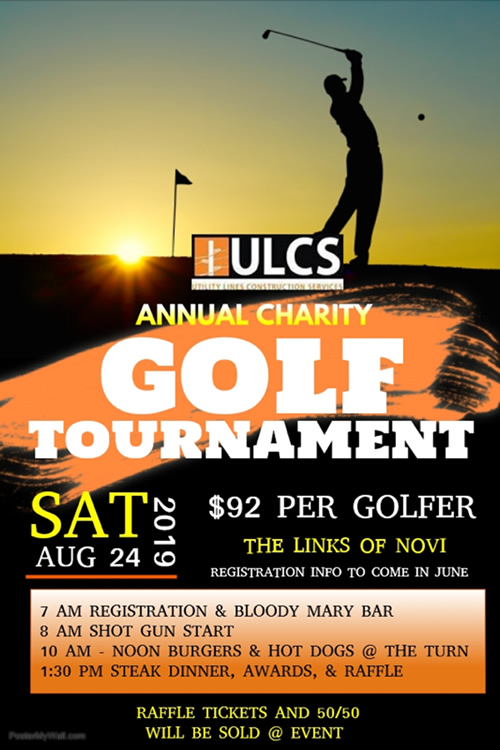 ULCS Charity Golf Tournament