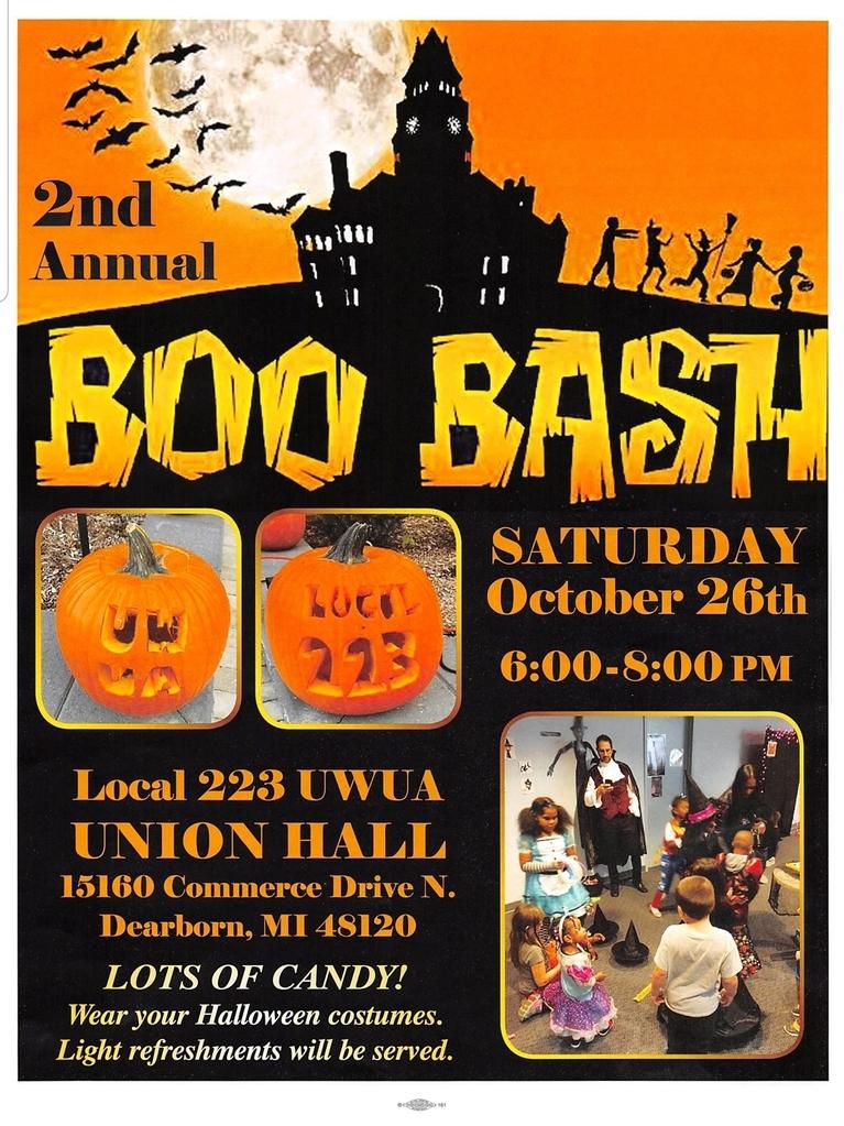 Local 223 Boo Bash